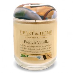 Heart&Home, Свеча «Французская ваниль», большая, 310 г