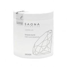 Saona Cosmetics, Паста для шугаринга Silver, мягкая, 1000 г