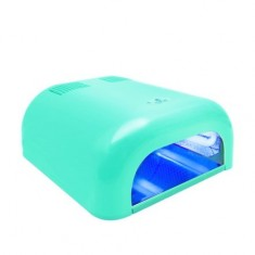 Planet Nails, Лампа UV Tunnel Econom, 36W, мятная (электронная)