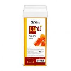 ruNail, Воск для депиляции Cardi Цветочный мед, 100 мл