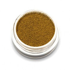 TNL, Бульонки супермелкие, золото, 0,2 мм TNL Professional