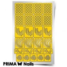 Prima Nails, Трафареты «Иллюзия»
