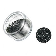 ruNail, дизайн для ногтей: блестки 0639 (цвет графита)