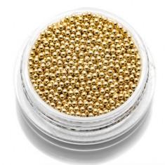 TNL, Бульонки металлические 1,2 мм (золото) TNL Professional