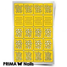 Prima Nails, Трафареты «Осенний принт»