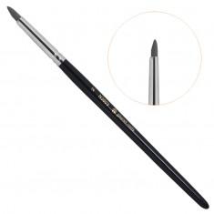 Planet nails, кисть с резиновым наконечником для французского маникюра, 3803.2