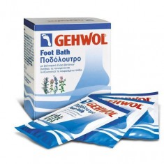 Gehwol, foot bath, ванна для ног, 10 пакетов по 20 г