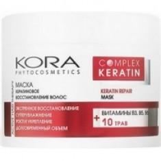 KORA - Маска кератиновое восстановление волос, 300 мл КОРА (Россия)