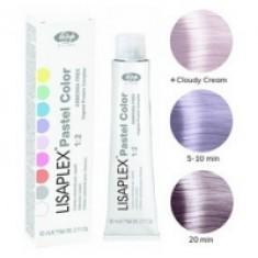 Lisap Milano Lisaplex Pastel Colors Lilla Flower - Полуперманентная краска для волос, цветок сирени, 60 мл Lisap Milano (Италия)