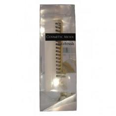 расчёска-щётка компактной формы (белая) vess cosmetic mode hairbrush compact