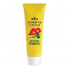 маска для волос восстанавливающая с маслом камелии  kurobara camellia oil hair pack