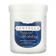 маска альгинатная на основе центеллы  anskin centella natural modeling mask