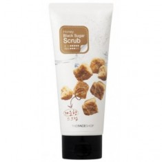 скраб для лица the face shop smart peeling honey black sugar scrub