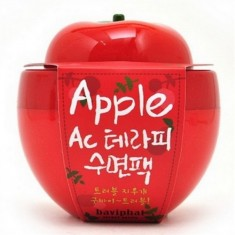 маска для лица с экстрактом яблока baviphat apple ac therapy sleeping pack
