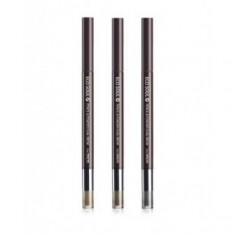 карандаш-пудра для бровей the saem eco soul pencil & powder dual brow