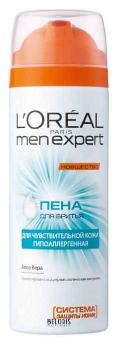 Пена для бритья для лица L'Oreal