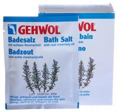 GEHWOL Соль с розмарином для ванны 10*25 г