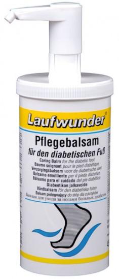 LAUFWUNDER Бальзам для ухода за диабетической стопой, с дозатором 450 мл