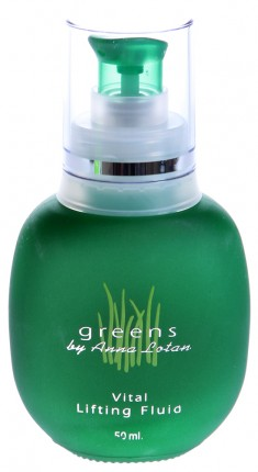 ANNA LOTAN Капли-лифтинг витаминизированные Гринс / Vital Lifting Fluid GREENS 50 мл