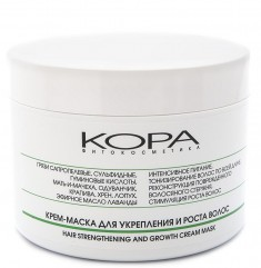 KORA Крем-маска для укрепления и роста волос 300 мл