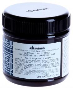 DAVINES SPA Кондиционер оттеночный для натуральных и окрашенных волос Алхимик, серебряный / ALCHEMIC 250 мл