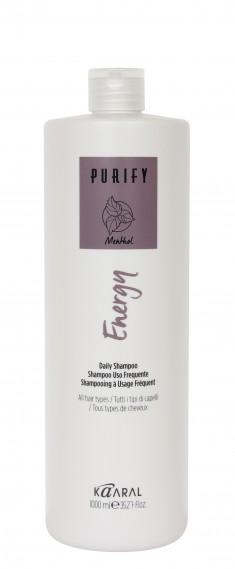 KAARAL Шампунь интенсивный энергетический с ментолом / Energy Shampoo PURIFY 1000 мл