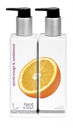 KINETICS Лосьон для рук и тела Пряный апельсин и сандаловое дерево 250 мл