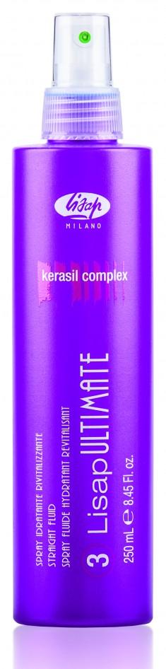 LISAP MILANO Флюид разглаживающий термо-защищающий для волос / 3-LISAP ULTIMATE 250 мл