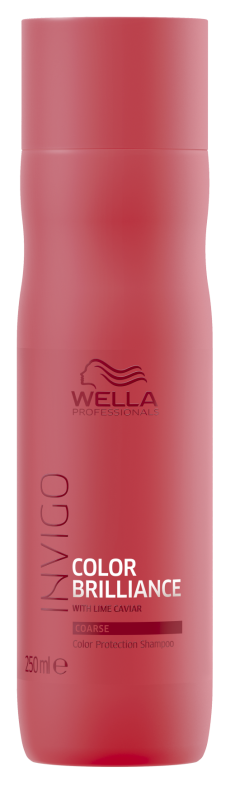 WELLA PROFESSIONALS Шампунь для защиты цвета окрашенных жестких волос / Brilliance 250 мл