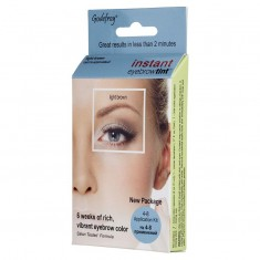 GODEFROY Краска-хна в капсулах для бровей с эффектом татуажа, светло-коричневый / Eyebrow Tint Light Brown 4 шт