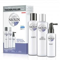 NIOXIN Набор XXL Система 5 (шампунь очищающий 300 мл, кондиционер увлажняющий 300 мл, маска питательная 100 мл)