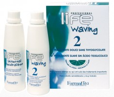 FARMAVITA Завивка химическая для поврежденных волос, в наборе 2 / LIFE WAVING 110 мл