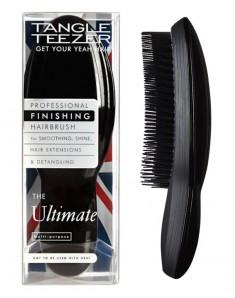 TANGLE TEEZER Расческа для волос, черная / The Ultimate Finisher Black