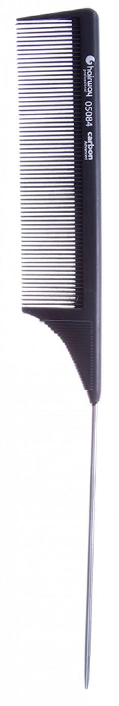 HAIRWAY Расческа Carbon Advance с металлическим хвостиком 225 мм