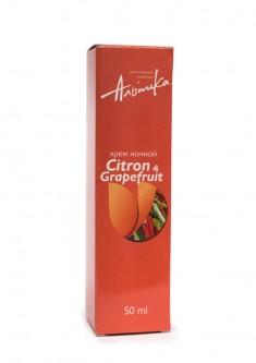 АЛЬПИКА Крем ночной Citron a Grapefruit 50 мл Альпика