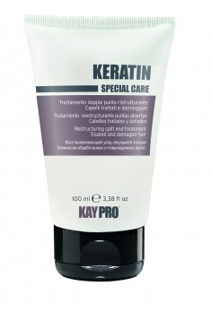 KAYPRO Крем восстанавливающий с кератином для секущихся концов 100 мл