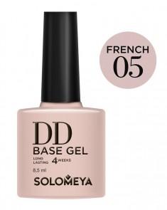 SOLOMEYA База-DD суперэластичная на основе нано-каучукового материала / French 05 DD BASE GEL Daily Defense 8,5 мл