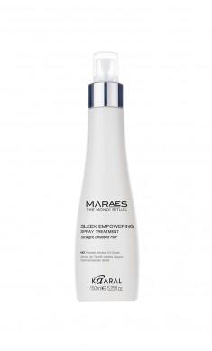 KAARAL Спрей восстанавливающий несмываемый для прямых поврежденных волос / Sleek Empowering Shampoo MARAES 150 мл