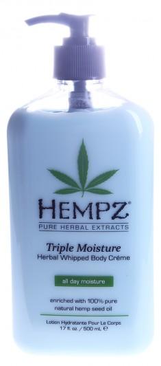 HEMPZ Молочко увлажняющее для тела Тройное увлажнение / Herbal Body Triple Moisture 500 мл
