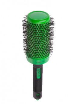 DEWAL PROFESSIONAL Термобрашинг Color, керамическое покрытие, нейлоновая щетина (зеленый) d 52/72 мм