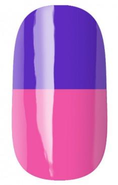 RUNAIL 2953 гель-лак термо, сине-фиолетовый - розовый / Thermo 7 мл
