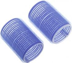 DEWAL PROFESSIONAL Бигуди-липучки синие d 16 мм 12 шт/уп