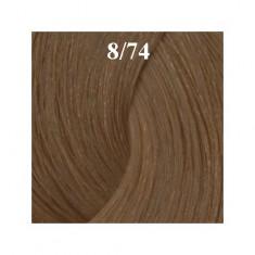 ESTEL PROFESSIONAL 8/74 краска для волос, светло-русый коричнево-медный (карамель) / ESSEX Princess 60 мл