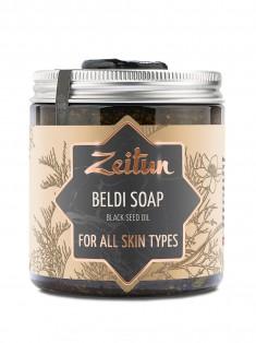 Деревенское мыло Бельди №6 целебное с маслом черного тмина