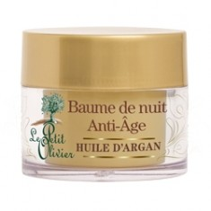 LE PETIT OLIVIER Бальзам для лица ночной восстанавливающий с маслом Арганы 50 мл