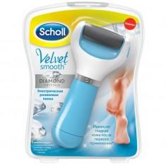 Scholl Электрическая роликовая пилка для удаления огрубевшей кожи стоп