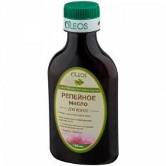 Олеос масло репейное косметическое с эфирным маслом чайного дерева 100мл Oleos