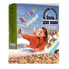 Соль Морская для ванн детская коробка Череда 1кг (4 фильтр-пакета)