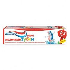 Аквафреш зубная паста Мои молочные зубки 3-5лет 50мл AQUAFRESH