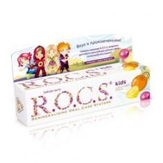 Рокс/Rocs Зубная паста для детей Цитрусовая радуга 45гр